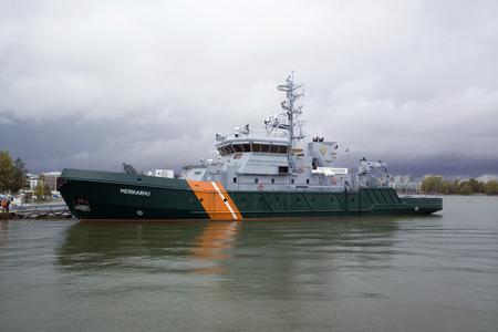 guard ship: Frontier Guard ship Merikarhu, Helsinki