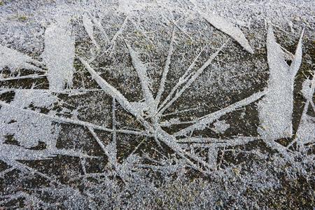 finland: frozen ground, Finland