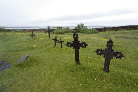 graves: old graves, Nesseby Norway