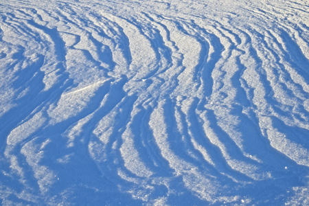snow surface pattern