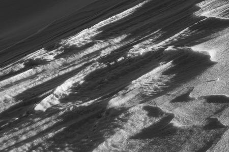 snow surface pattern