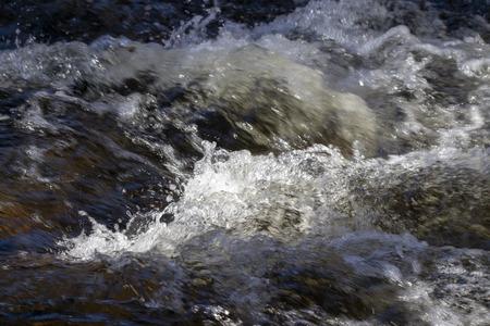 rapids in Kärnäkoski, Savitaipale Finland Stock Photo - 121291665