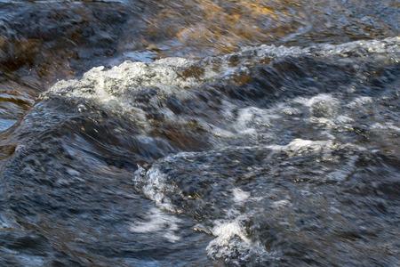 rapids in Kärnäkoski, Savitaipale Finland Stock Photo - 121291668