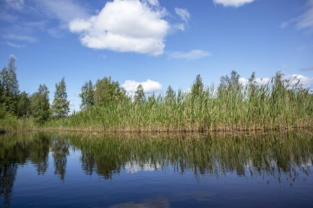 lakeshore scenery, Finland