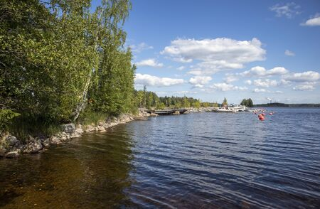 Summer scenery, Imatra Finland