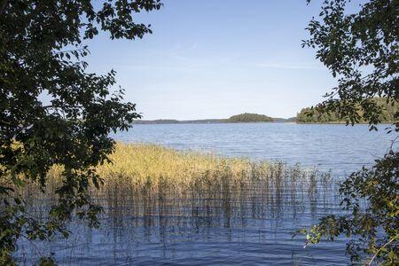 Lake Saimaa scenery, Lappeenranta Finland