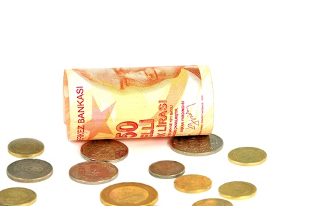 Turkish lira, money, tl, Stock Photo - 13789077