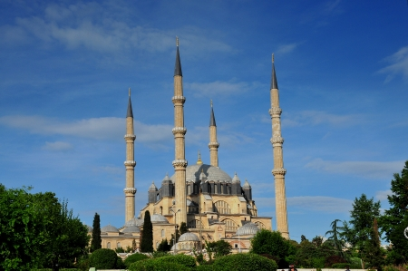 Turkey, Edirne, Selimiye Mosque  Built By Mimar Sinan In 1575   Reklamní fotografie