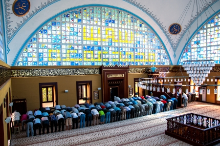 Muslims who pray istoc new mosque