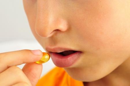 Mund des Kindes f�hrt zu Drogen