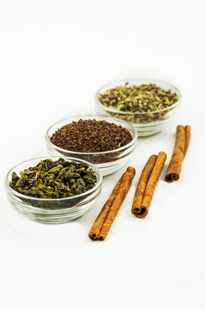 spice on a white background photo