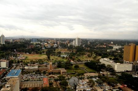 Nairobi, der Hauptstadt Kenias