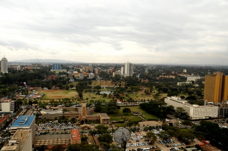 Nairobi, the capital city of Kenya Stock Photo - 15255412