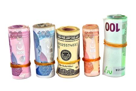 public servants: isolated Turkish Lira and dollar