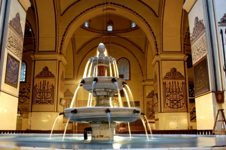 in der Geschichte des Osmanischen Reiches in Bursa Grand Mosque