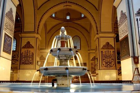 ottoman empire: in the history of the ottoman empire in Bursa Grand Mosque Stock Photo