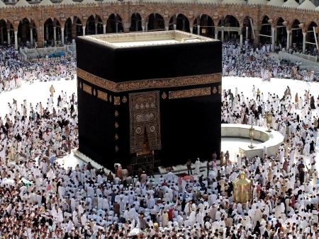 Kaaba Meca Arabia Saudita Foto de archivo