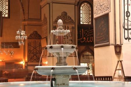 ottoman empire: in the history of the ottoman empire in Bursa Grand Mosque Editorial