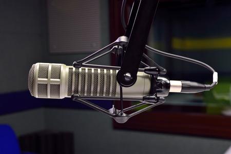 microfono de radio: micrófono de estudio de radio
