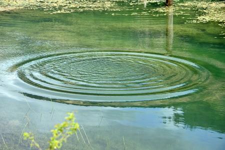 Water drops splashing