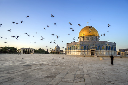 dome: Dome of the Rock in Jerusalem