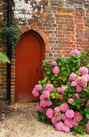 Garden doorway photo
