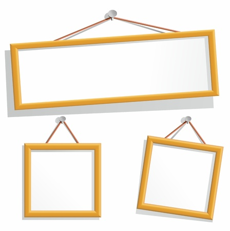 empty frames Stock Vector - 11004272