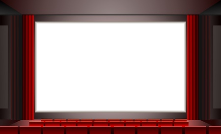movie screen: cinema