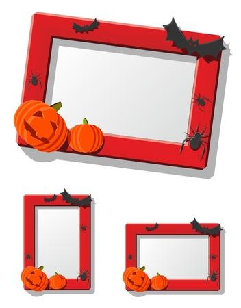 pumpkin border: Halloween Frame