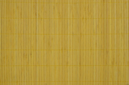 d cor: yellow bamboo mat, background, backdrop