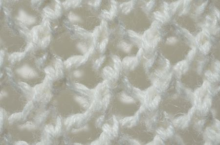 d cor: Knitted yarn - up-close