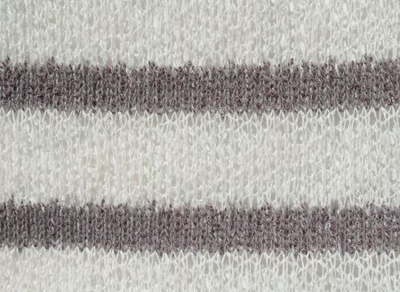 d cor: White and gray knit fabric