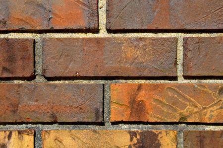 siding: Textured Brick wall siding