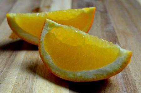 juicy: Healthy juicy orange slices