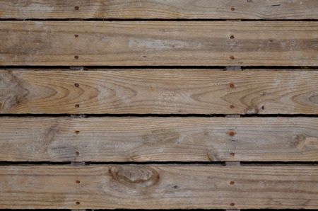 Aged wooden pallet boards for background or backdrop