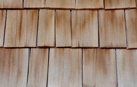 cedar shakes: Cedar wood siding, abstract background or backdrop