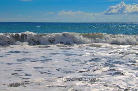 ocean waves: Tropical ocean waves