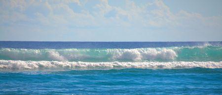 ocean waves: Tropical turquoise ocean waves