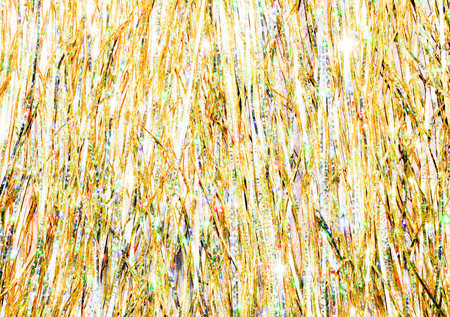 Light gold bright sparkling abstract background. Stock Photo