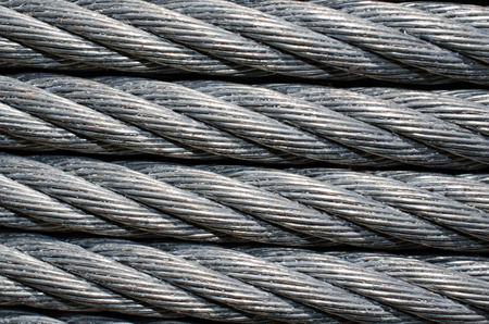 zip tie: Industrial strength metal cable wire for tie down or zip line.  Strong heavy duty construction wire.