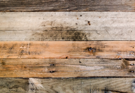 Rustic wood boards for background. Old, weathered pallet wood wall. Standard-Bild - 96543227