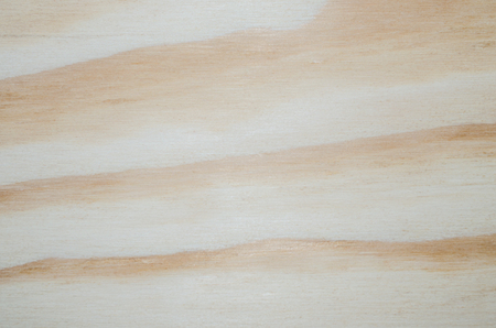 Wood with texture and design for beautiful background. Bright neutral natural raw color. Stock Photo