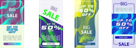 Banner sale design template, special offer Big sale