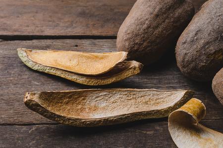 caoba: Caoba decoración de fondo de semillas