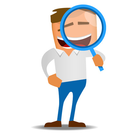High Quality cartoon image of an office worker
