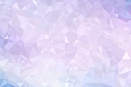 High resolution illustration based on colorful triangles