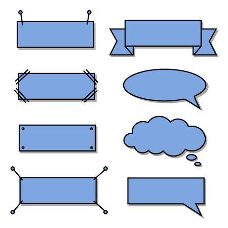 Bikablo - presentation scheme technique - Basic set blue filling