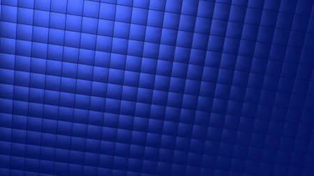 Background image with light blue tiles in perspective view