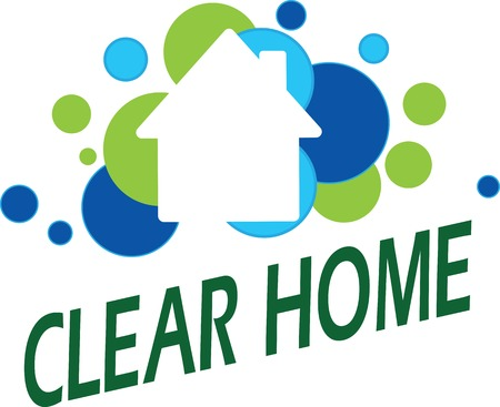 care: Vector illustration logo template on theme house care, green house, eco etc.