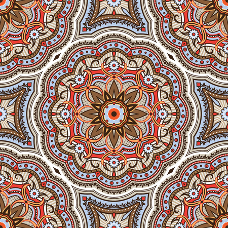islamic pattern: Colorful Vector Seamless Pattern. Traditional Arabic Islamic background. Illustration